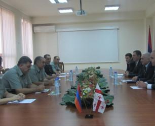 Visit of Border Guards of Georgia to Armenia