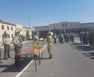 Volleyball Championship in the Border Guard Troops of the National Security Service of the Republic of Armenia