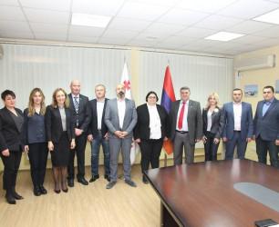 Armenian border guards' visit to Georgia