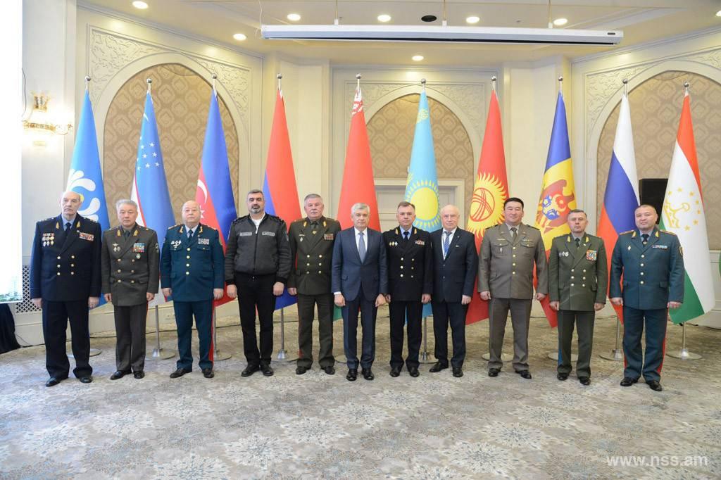 Состоялось 81-е заседание Совета командующих Пограничными войсками