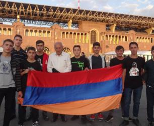 Գավառի մանկատան սաները ներկա գտնվեցին Հայաստան-Իտալիա ֆուտբոլային հանդիպմանը