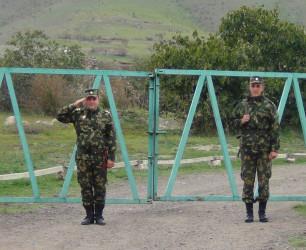 Այցելություն ժամկետային զինծառայողներին