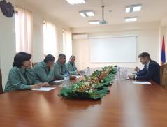 Встреча в Управлении пограничных войск