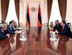Эдуард Мартиросян принял начальника Пограничной полиции  МВД Грузии