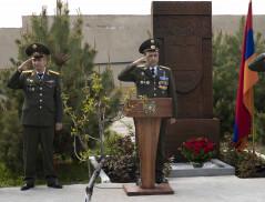Пограничные войска СНБ РА отметили профессиональный праздник