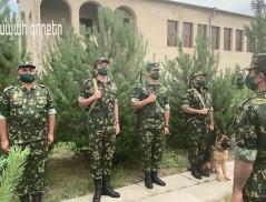 ՀՀ ԱԱԾ սահմանապահ զորքերը կոչ են անում կրել դիմակներ և պահպանել համաճարակային կանոնները