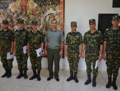 Demobilization ceremony in Border Guard Troops