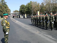 The RA NSS Border Guard Troops servicemen celebrated Independence Day of the Republic of Armenia (video)