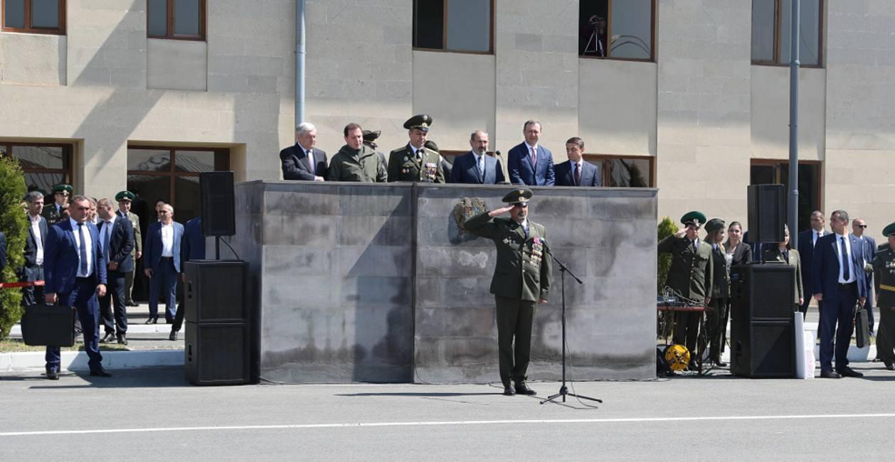 Հայաստանի սահմանապահները նշեցին մասնագիտական տոնը
