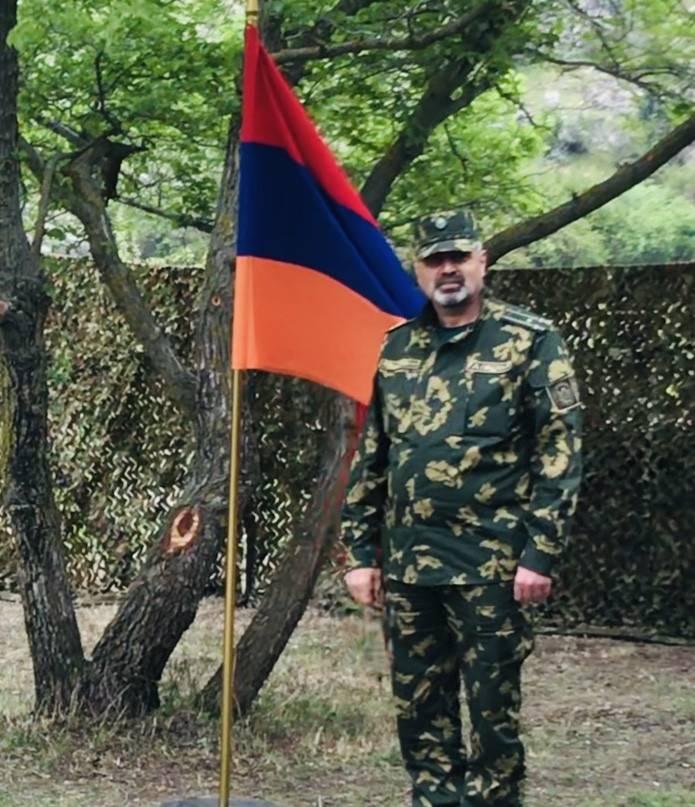Призыв командующего Пограничными войсками СНБ РА полковника Вагинака Саргсяна